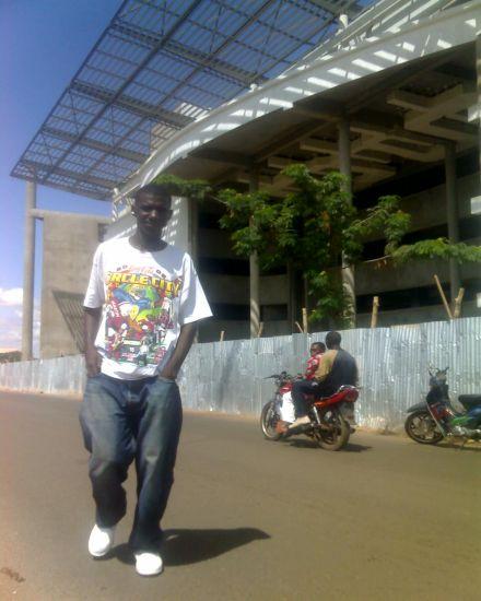 dans les rues de Bamako