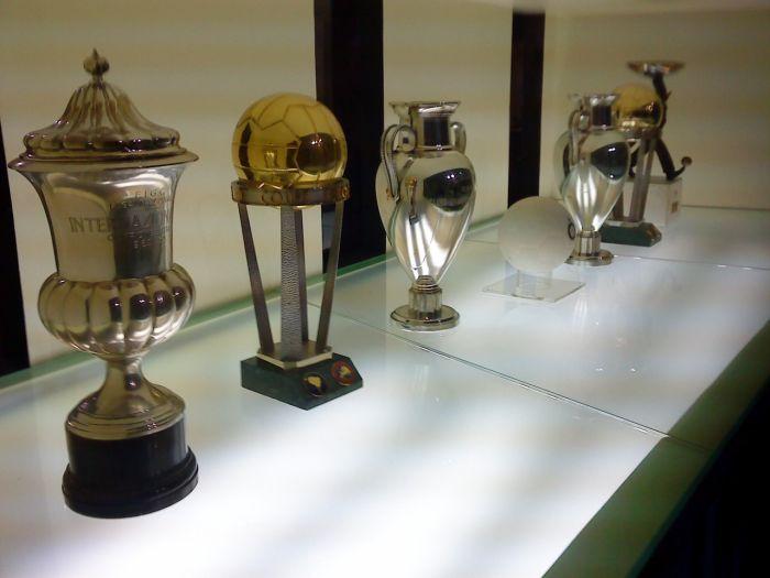 Salle des trophées de l'Inter