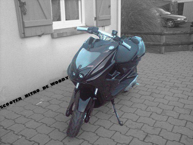 Mon Scooter Nitro ^^