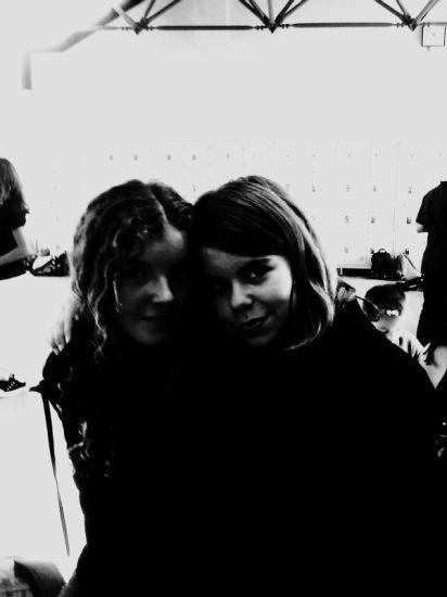 Mathilde et Ophélie