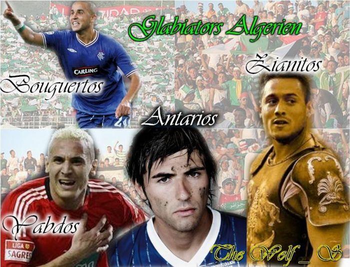 les gladiators algeriens