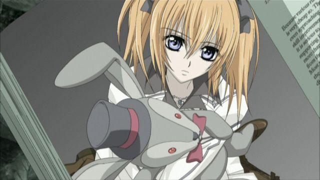 Rima-chan vampire knight !! <3