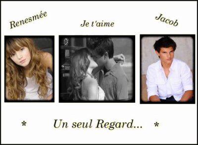 Renésmée et Jacob ♥