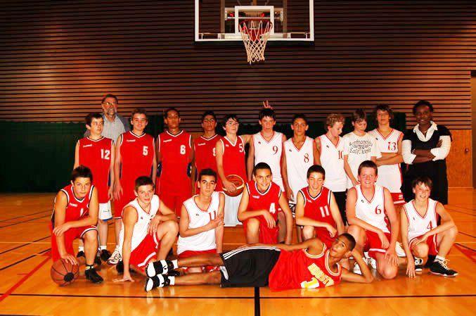 Equipe de St Julien Minimes 2008