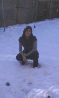 Moi dans le neige du 22.12.09