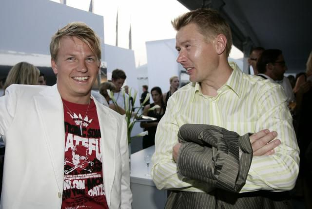 Kimi & Hakkinen deux flying finn !