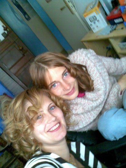 petite soeur et moi meme !!