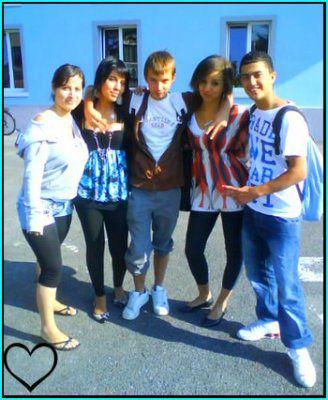 Adelyna, Sara, William, Moi & Hamed :P