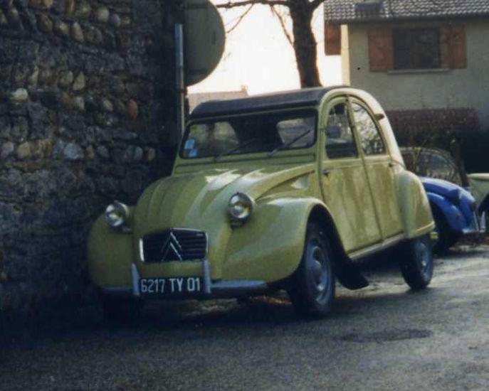 1961 jaune panama