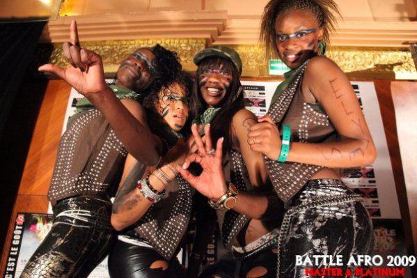 Les Ndombolo Queens ( Elytes )