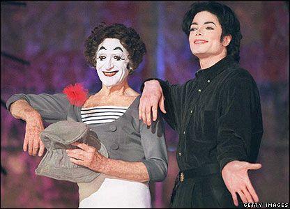 MJ et le mime marco