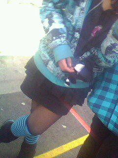 moii avec les chausettes montente ^^