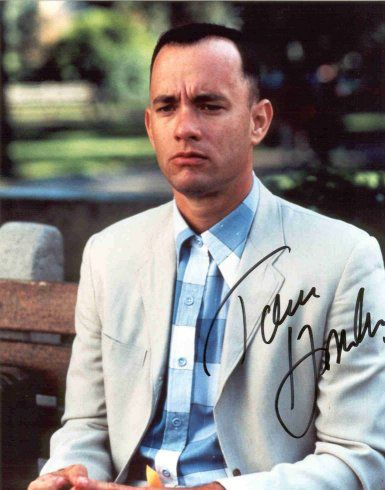 Tom Hanks dans Forrest Gump <3<3