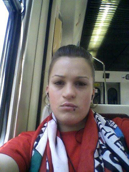 yo en el tren iendo pa bilbao a ber al athletik..!!
