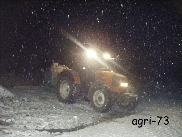 renault sous la neige