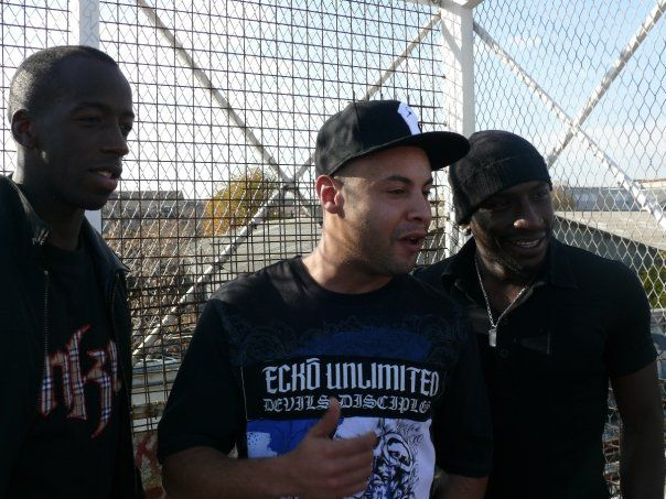 Avec Mamadou Niang et Souleymane Diawara !