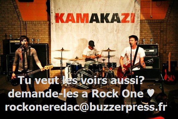 demander qu'on parle du groupe au magasine Rock One svp