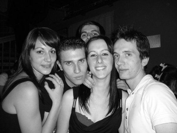 Cindy, Rémy, Mathieu, moi et Patrick à la Cage