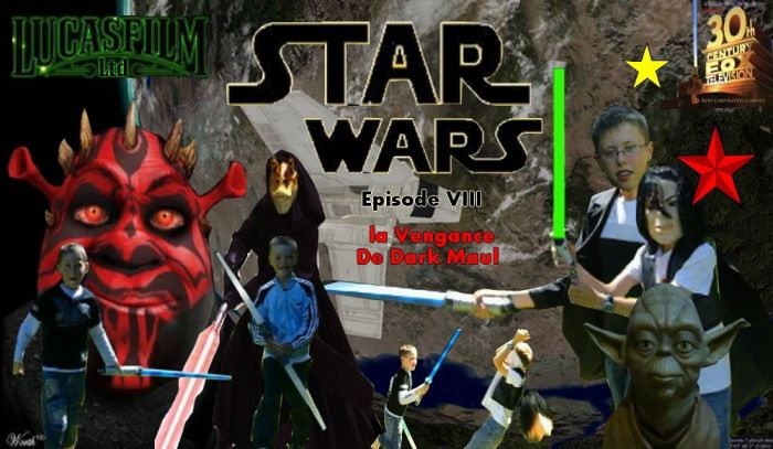 Star Wars VIII - La Vengeance De Dark Maul