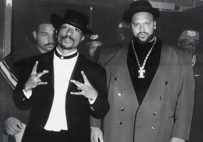 Mr tupac et Suge knight