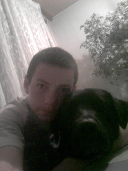 moi avex mon chien
