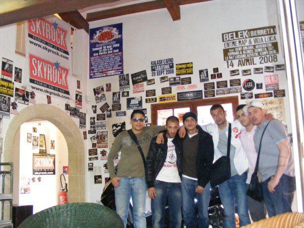 a sky pour la promo du concert du 16 mai 2009 la cosa nostra