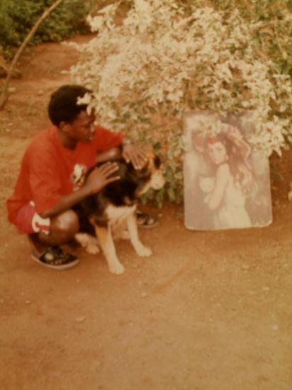 moi et mon défunt chien sac-a-puce