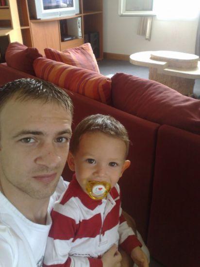 mon frere marc et mon neveu