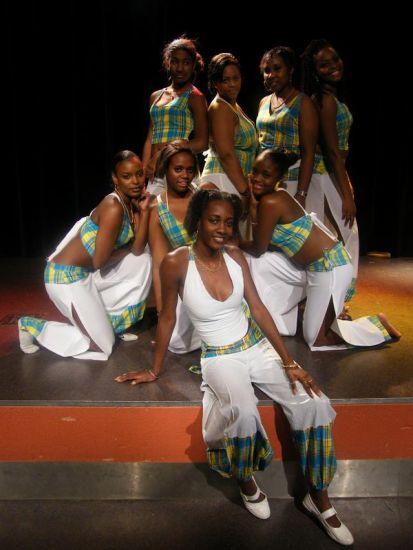 Une partie des danseuses