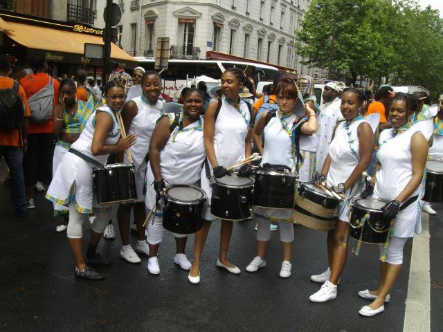 section TOM carnaval de paris 2008
