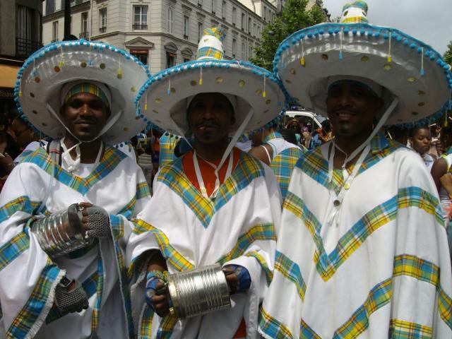 section CHACHA carnaval de paris 2008