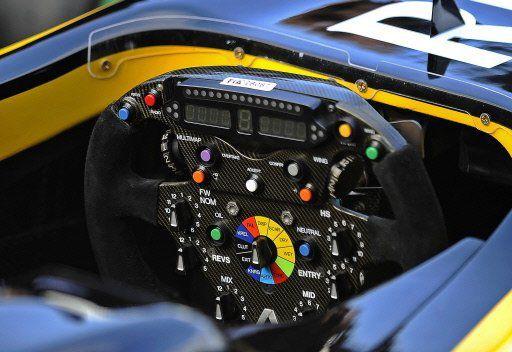 Renault F1 Team : Volant de la Monoplace
