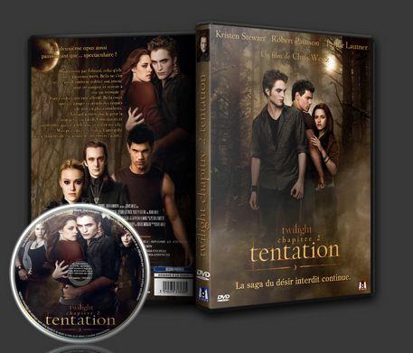 Le DVD twilight 2 Tentation