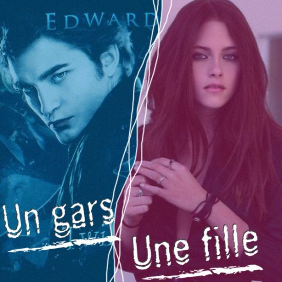 un gars une fille = Bella et Edward