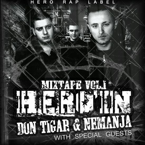 Couverture mixtape HERO'IN vol.1