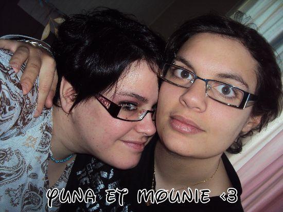 Yuna et Mounie