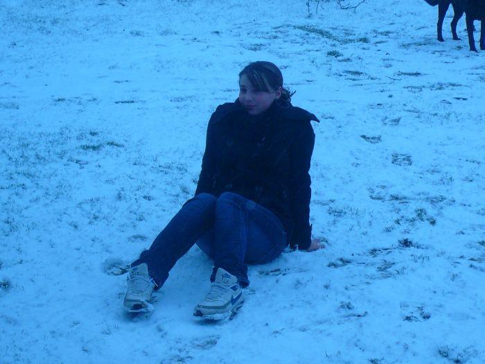 Moi dans la neigee ^^