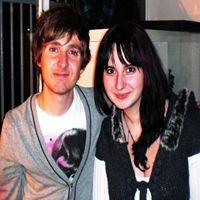 Ladis et moi (Cynthia) après le concert du 04 décembre.