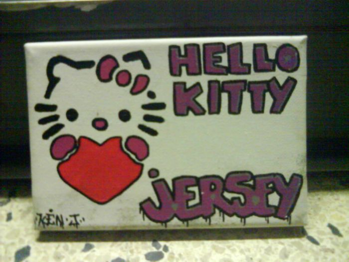 tablo hello kitty(jersey)