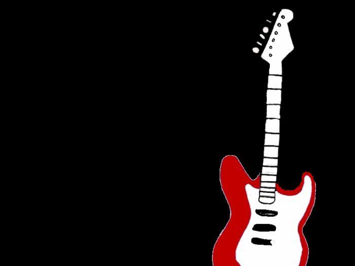 il ya la guitare ou lotre ave cla bouche