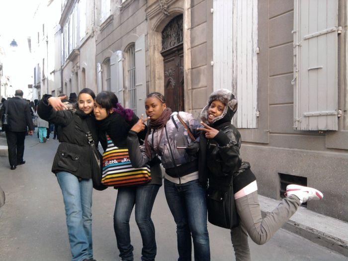 Nous à Arles !!!! hella c t là-bas srxx !!!!
