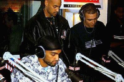 Ali , Booba et Lim avec des cheveu mdrr
