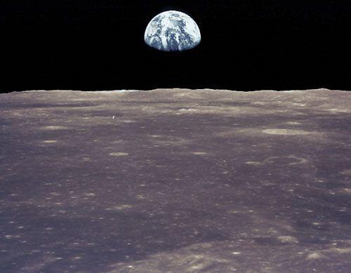 Clair de Terre: que nous sommes petits...