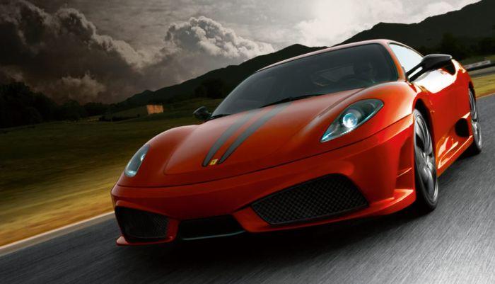 Photo officiel de F430 prise sur le site Ferrari