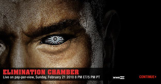 Wwe Elimination Chamber Affiche