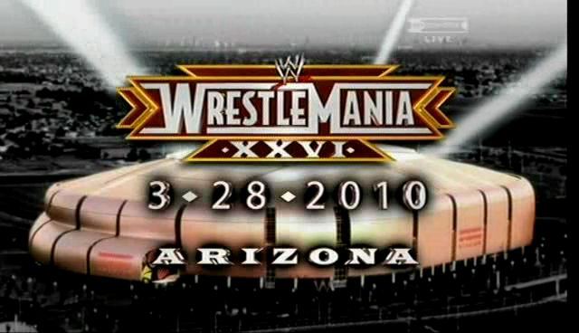 Wwe Wrestlemania 26 en Arizona =)