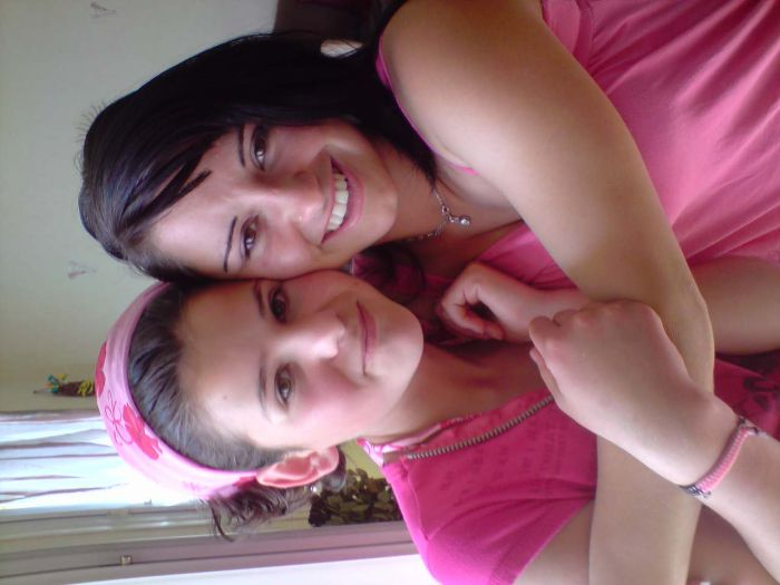 ma soeur avec ma cousine