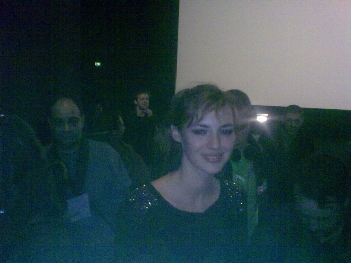 louise bourgoin miss meteo canal + STRASBOURG  FEVRIER 2010