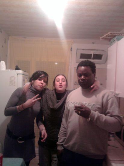ma cousine son copain et une amie a ma cousine