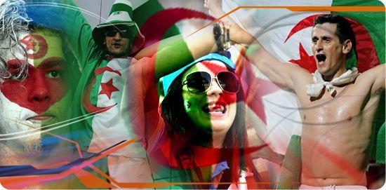 Le peuple de l'Algérie Mon peuple